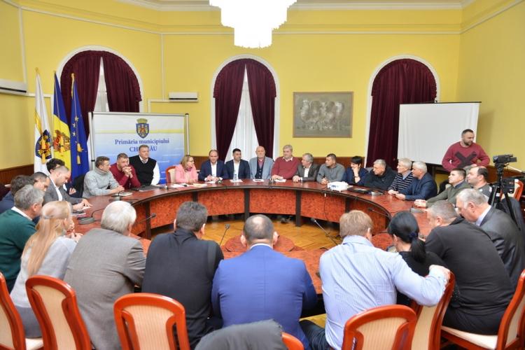 Reprezentanții celor 72 de federații sportive din Republica Moldova s-au întâlnit cu Primarul de Chișinău