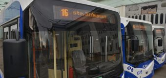 A fost redeschisă ruta de troleibuz nr. 16. Vezi itinerarul