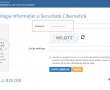 """Serviciile de înregistrare a numelor de domeniu pot fi achitate și prin intermediul Serviciului Guvernamental de Plăți Electronice """"MPay"""""""