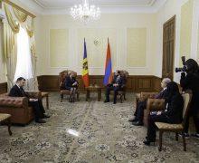 Greceanîi: Relațiile dintre R. Moldova și Armenia au un potențial mare