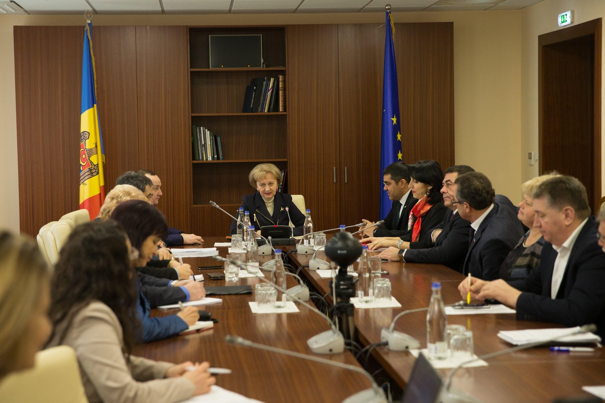 Grupul de lucru privind asigurarea funcţionalităţii UTA Găgăuzia – în prima ședință din noua sesiune
