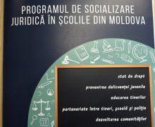 Un Program de socializare juridică în școli – lansat în Republica Moldova