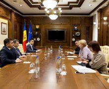 Speakerul Greceanîi a avut o întrevedere cu ambasadorul Azerbaidjanului