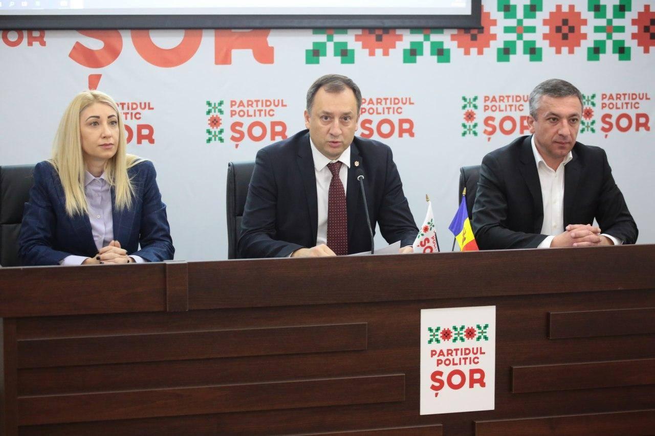"""Partidul """"Șor"""": Se încearcă eliminarea lui Balinschi din cursa electorală"""