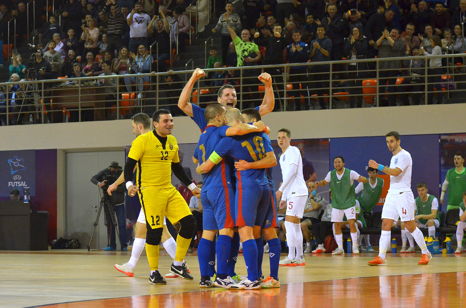 Naționala Moldovei de futsal a câștigat finala grupei H în fața Angliei