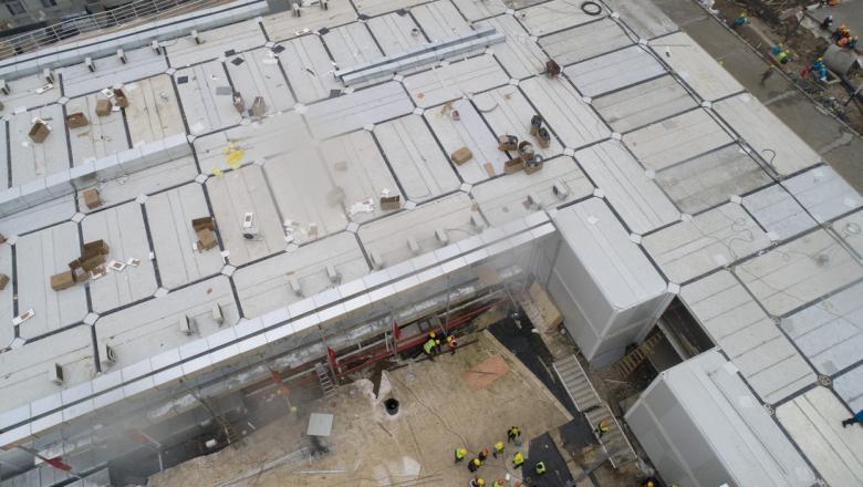 Cum arată în interior spitalul construit în 10 zile de chinezi pentru pacienții cu coronavirus