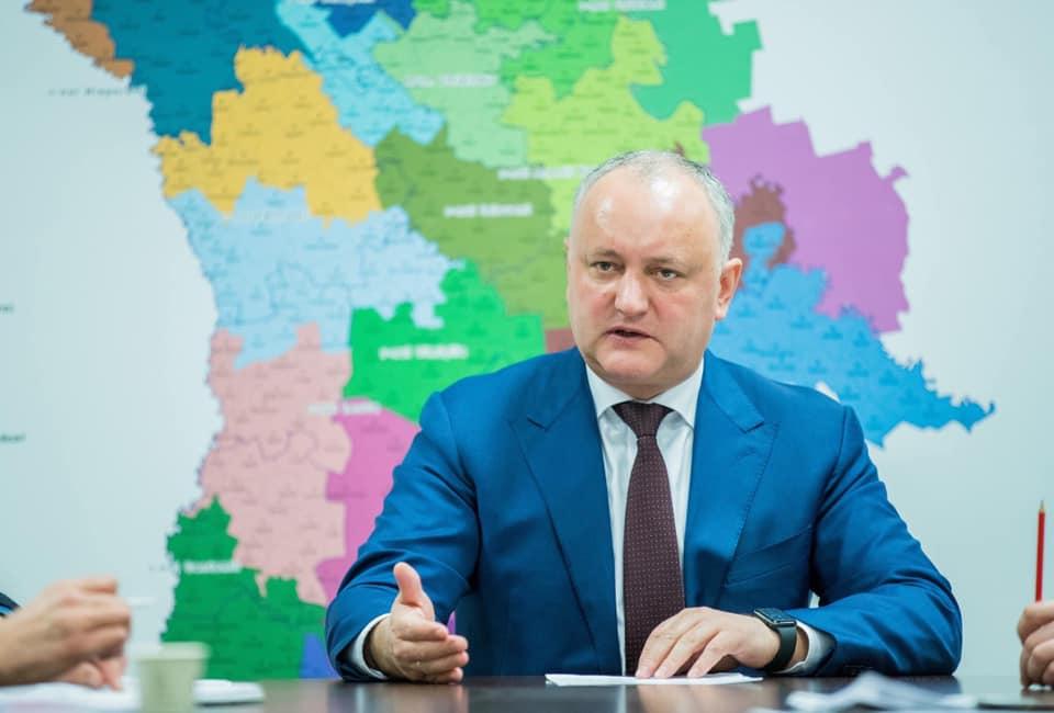 Dodon: Obiectivul nostru prioritar rămâne a fi racordarea cadrului legal național la standardele europene și implementarea acestuia