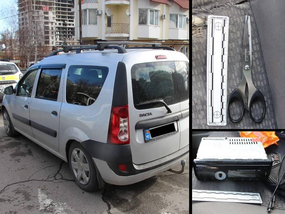 Surprins chiar de proprietar în timp ce comitea un furt din mașină