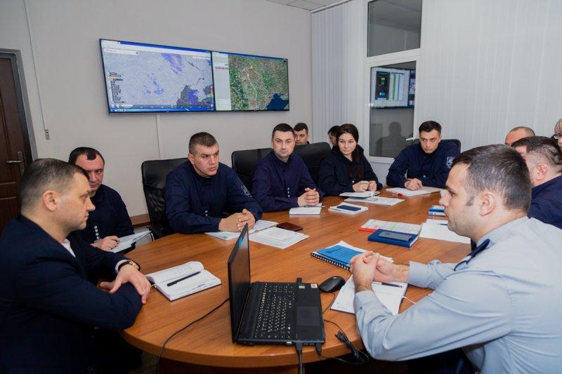 Polițiștii de frontieră din Direcția generală management operațional au fost instruiți privind consolidarea unităților operaționale de coordonare