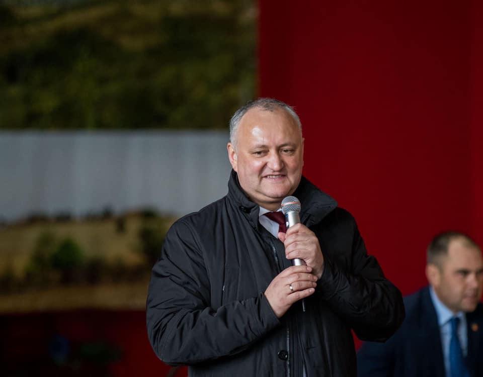 Prezidențiale: Igor Dodon, înregistrat în cursa electorală