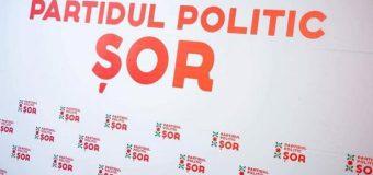 """Partidul """"ȘOR"""": Cererea CEC e una ilegală, abuzivă și reprezintă o comandă politică a guvernării"""