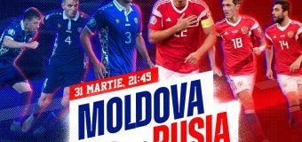 FMF a stabilit prețul biletelor pentru meciul Moldova-Rusia. Când vor putea fi achiziționate