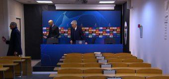 """Moment unic în Champions League! Antrenorul Atalantei a vorbit singur la conferința de presă: """"Bună seara, nu prea vă văd"""""""