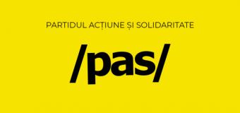 """PAS – cu o interpelare către Ion Chicu: """"În caz contrar, ajungem în situații absurde"""""""