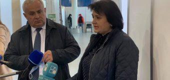Ministra Sănătății a inspectat Centrul COVID-19: A fost identificat personalul medical necesar
