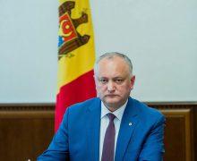 """Partidul """"Pro Moldova"""" va colecta semnături pentru ca Dodon să plece din funcție"""