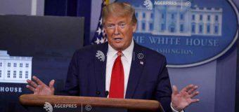 SUA: YouTube suspendă canalul lui Trump şi şterge un videoclip pe motiv de 'risc de violenţă'
