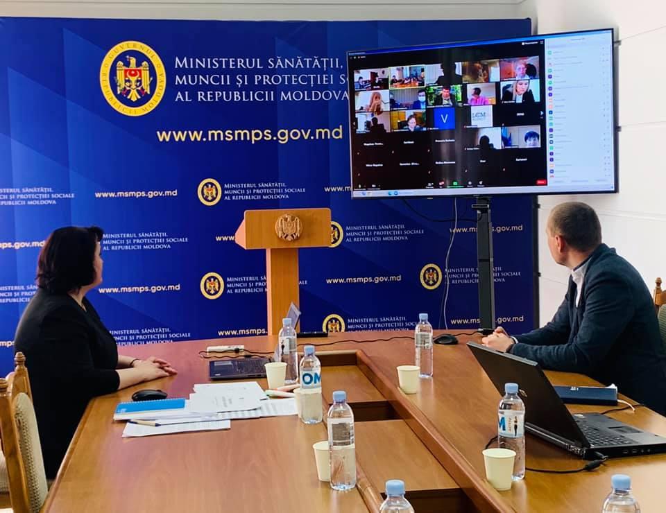 MSMPS, la discuții cu autoritățile publice locale. Sunt examinate măsurile de control în contextul sărbătorii Paștelui Blajinilor!
