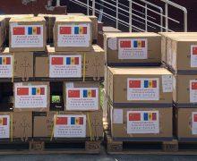 Un lot de ajutor umanitar din partea Republicii Populare Chineze a ajuns la Chișinău
