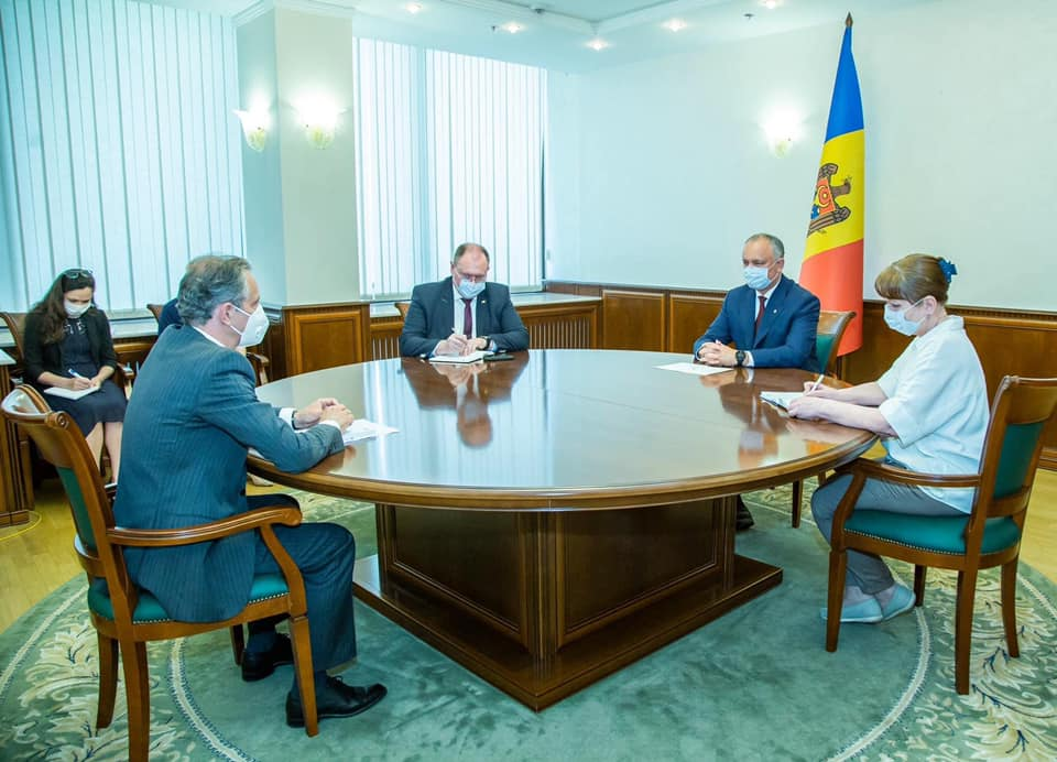 Igor Dodon va avea o întrevedere cu Vadim Krasnoselski