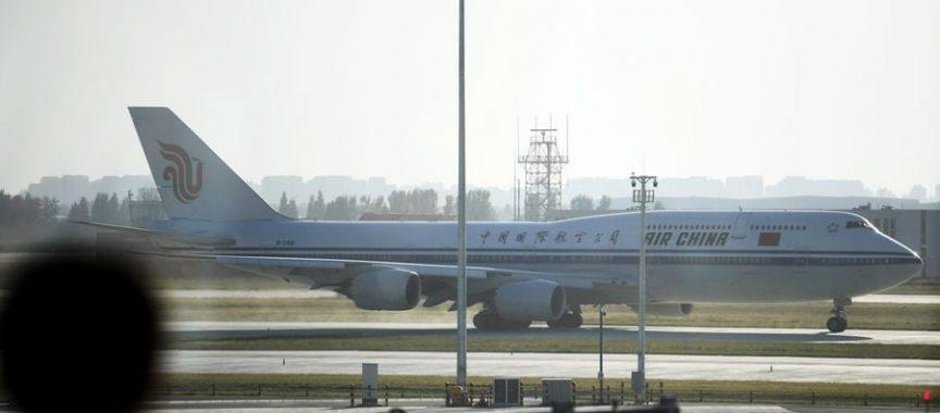 China le permite companiilor aeriene străine să asigure un zbor pe săptămână