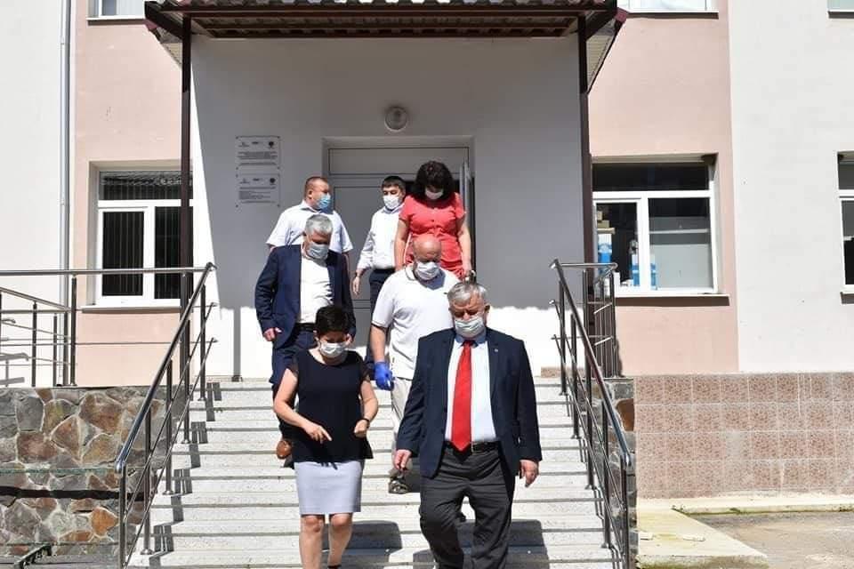 """Directorul IP FISM a efectuat o vizită de lucru la Liceul Teoretic """"Vasile Coroban"""" din or. Glodeni"""