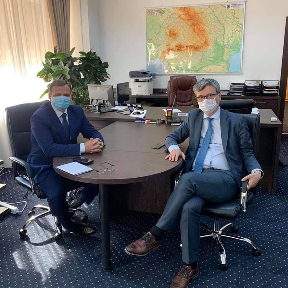 Ce a discutat Andrei Năstase cu Virgil Popescu, Ministrul Economiei, Energiei și Mediului de Afaceri a României