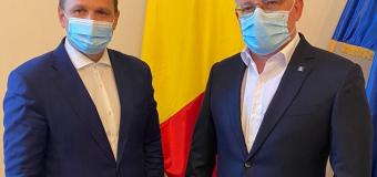 Ce a convenit Andrei Năstase cu ministrul Agriculturii și Dezvoltării Rurale din România