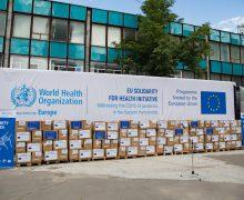 Ajutor umanitar oferit de UE și OMS! Este primul lot cu echipamente personale de protecție