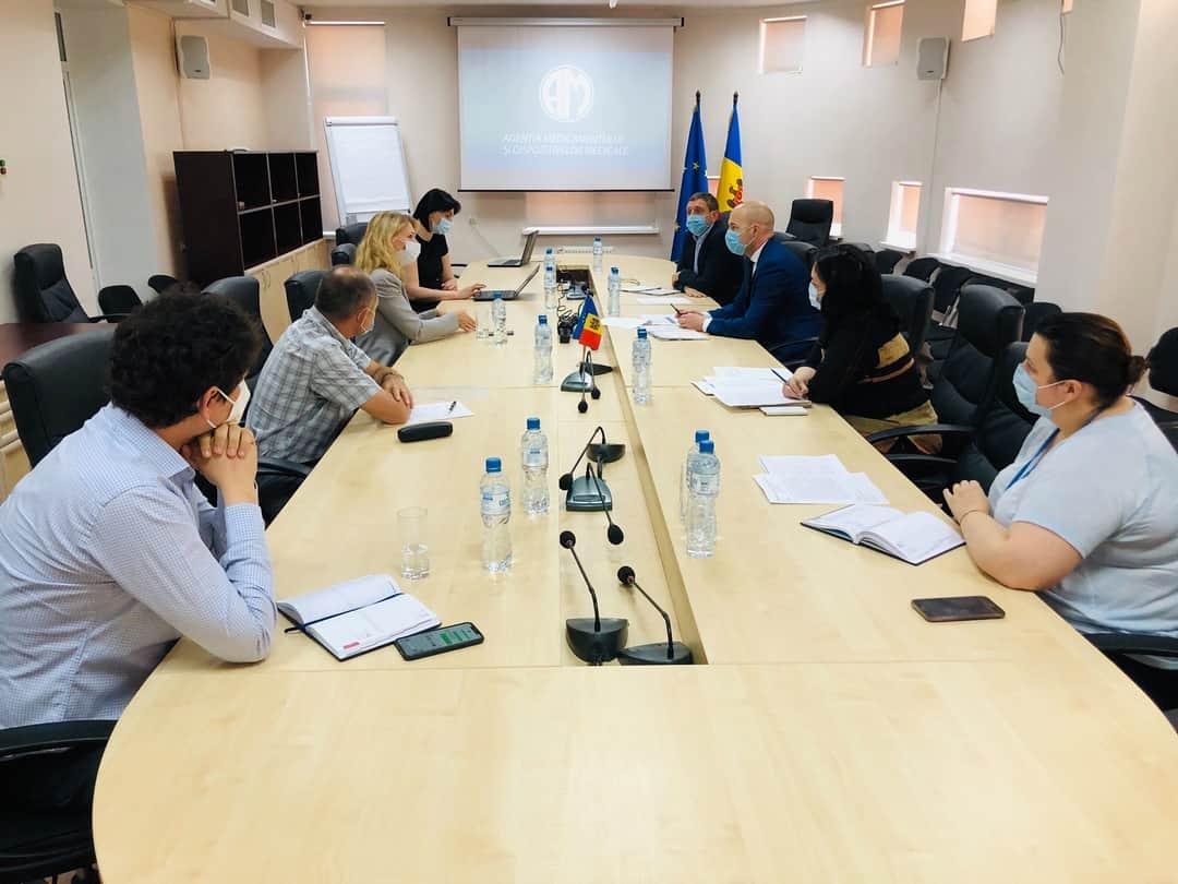 Directorul general AMDM, la discuții cu directorul executiv al Camerei de Comerț Americane din Moldova