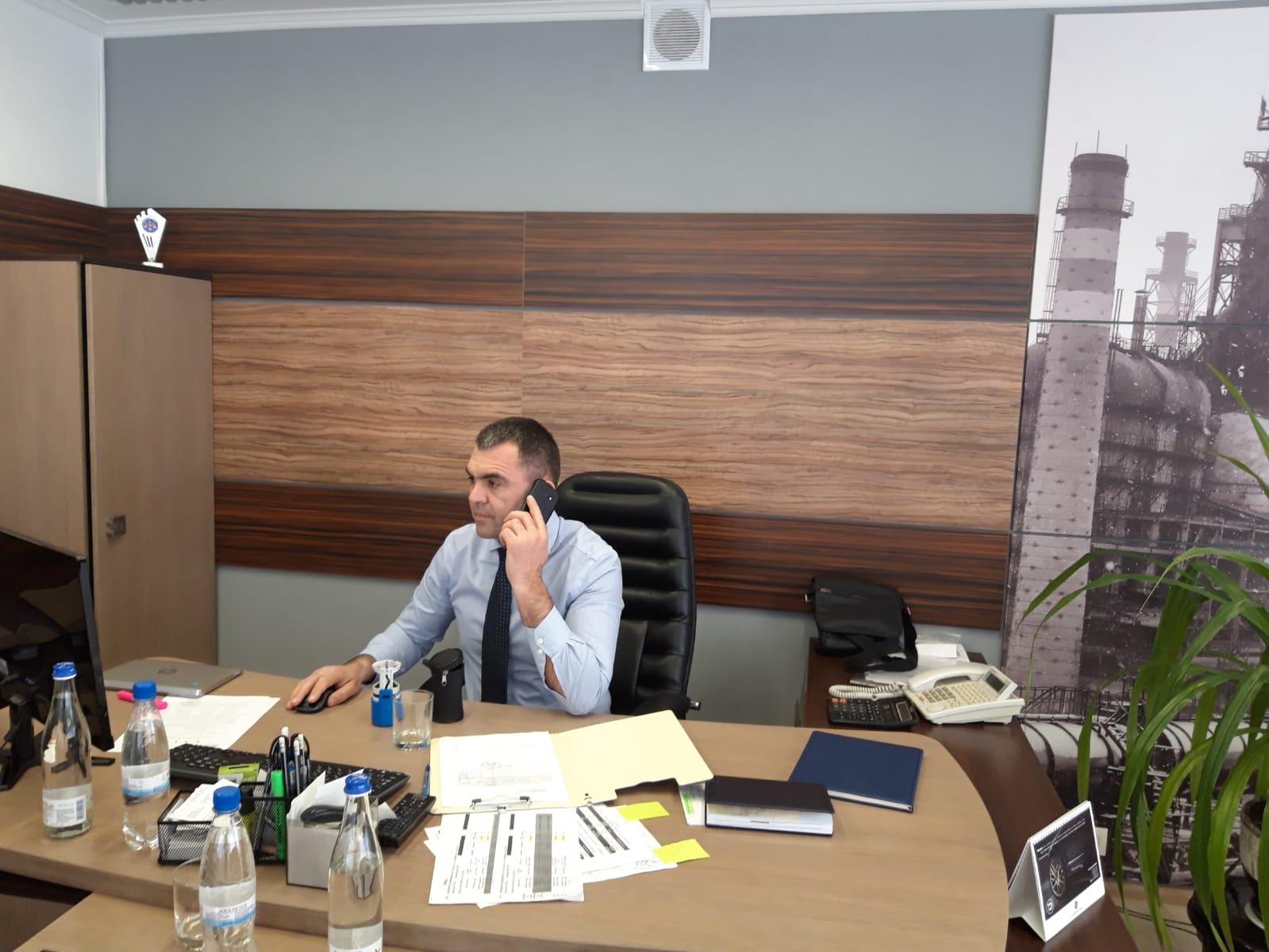 """(INTERVIU) Igor Cujba: Noi, echipa managerială a """"Metalferos"""", avem obiectivul să asigurăm o dezvoltare continuă a întreprinderii"""