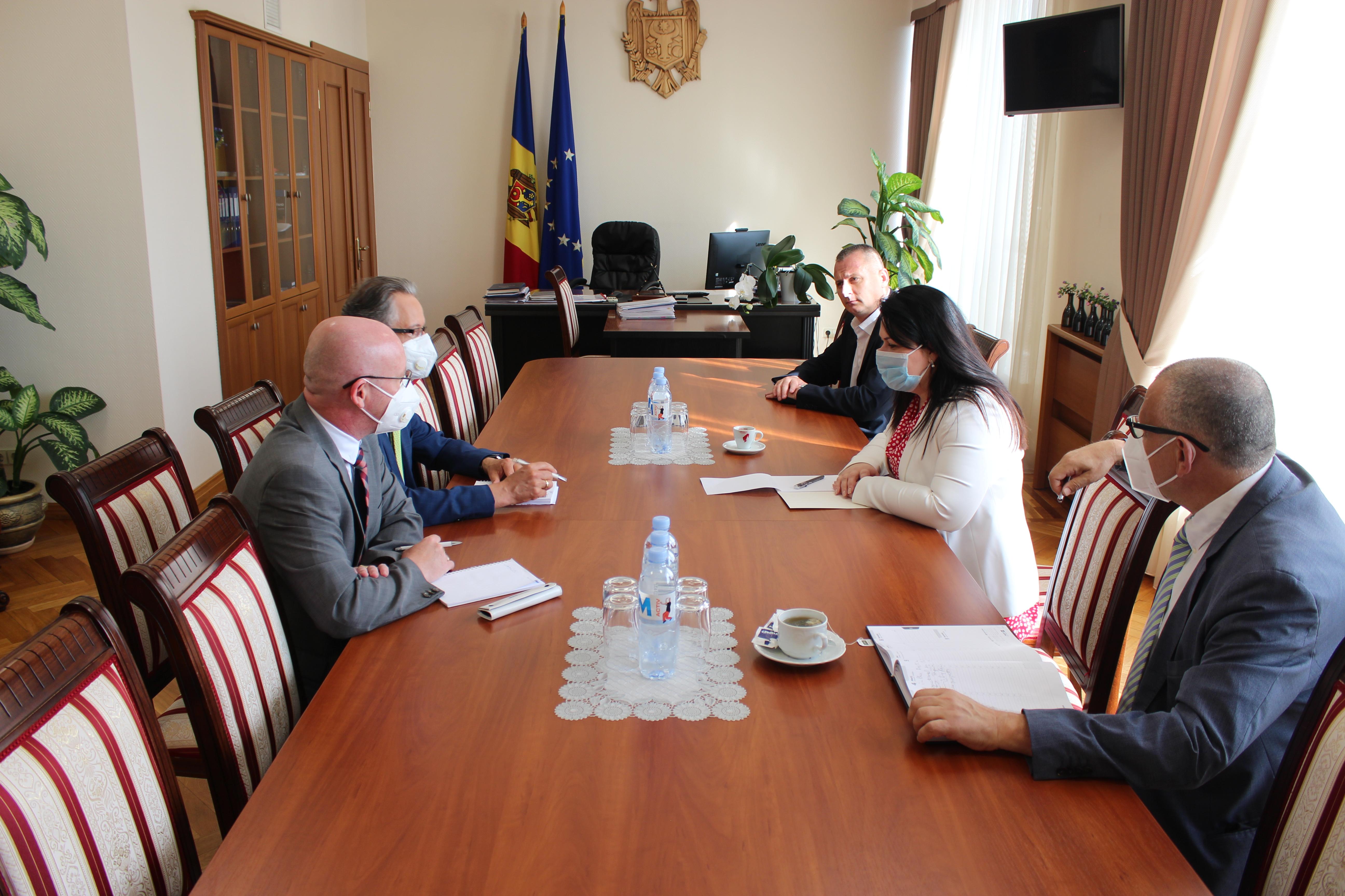 Viceprim-ministra Lesnic și-a exprimat îngrijorarea cu privire la situația din Zona de Securitate