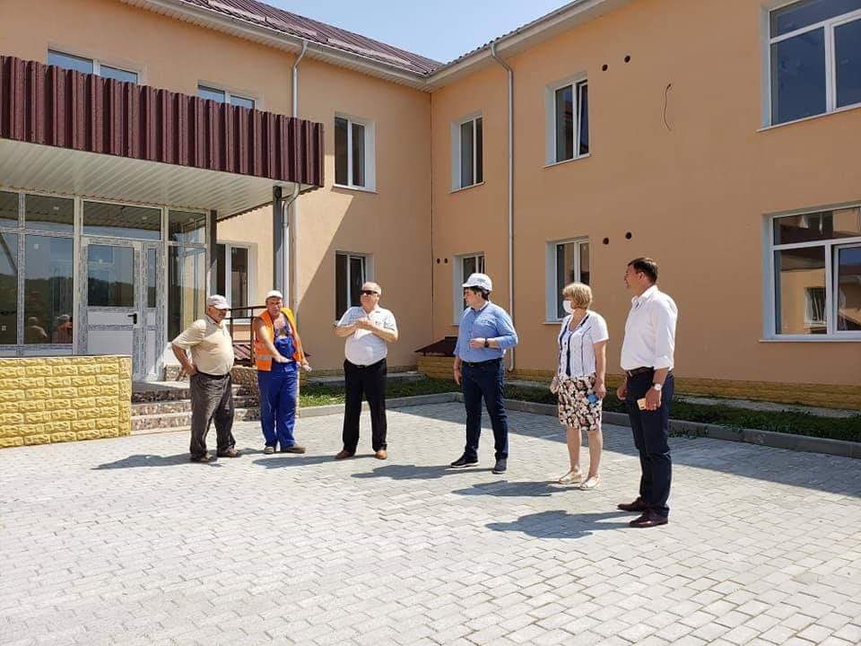 """Conducerea IP FISM, în vizită de lucru la L.T. """"Mihai Eminescu"""" din Cimişlia"""