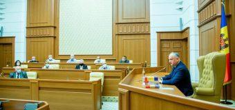 Dodon anunță despre prima ședință a Comisiei pentru reforma constituțională