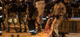 Prezidenţiale în Belarus: Confruntări între forţele de ordine şi protestatari