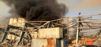 Explozii Beirut: 2.750 de tone de nitrat de amoniu s-au aflat la originea tragediei