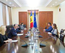 Ion Chicu: Mizăm în continuare pe dezvoltarea cooperării dintre Republica Moldova și UIP