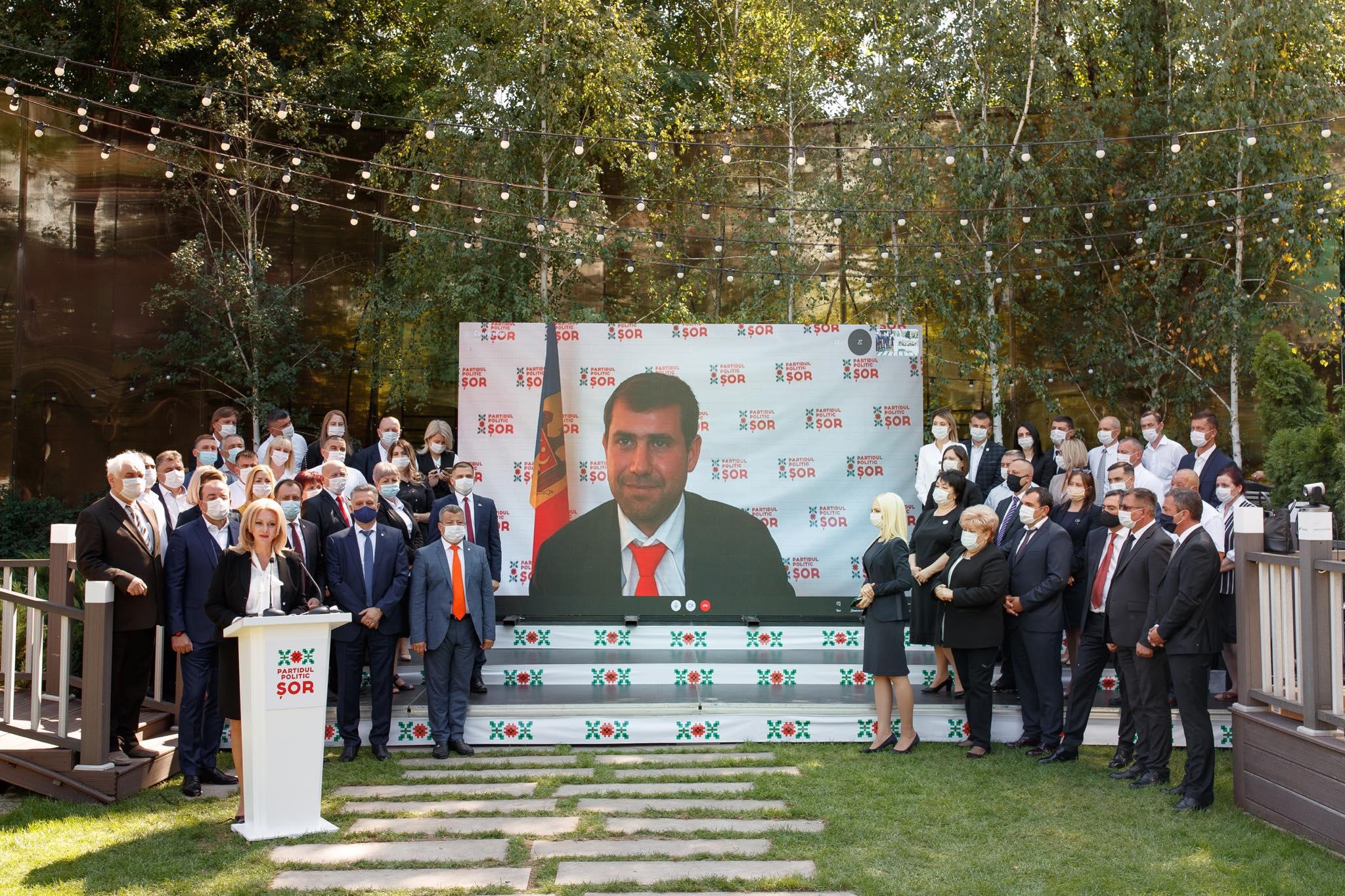 """Partidul """"ȘOR"""" a desemnat-o pe Violeta Ivanov candidat la alegerile prezidențiale"""
