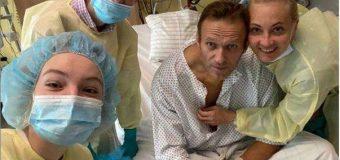 """Navalnîi a postat o fotografie cu el înconjurat de familie: """"Am putut să respir singur o zi întreagă"""""""