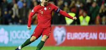 Cristiano Ronaldo a înscris golul 100 la echipa națională! Starul lusitan, execuție impecabilă din lovitură liberă