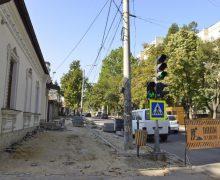 Reacția lui Chironda privind starea trotuarelor de pe str. Pușkin și str. Bănulescu-Bodoni, în urma ploilor