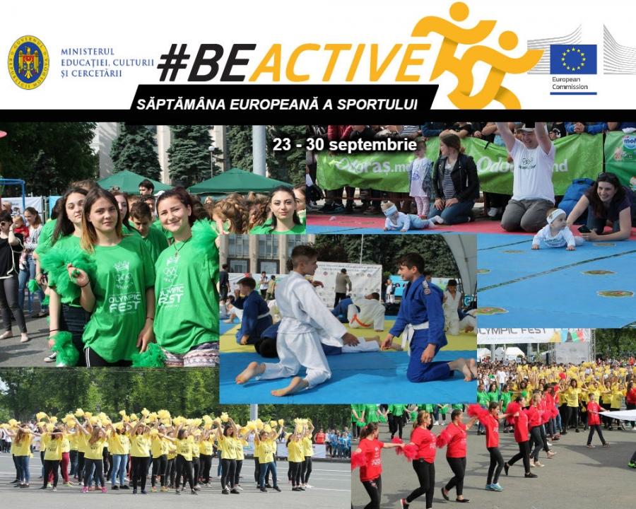 Ministerul Educației, Culturii și Cercetării a dat start Săptămânii Europene a Sportului