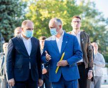 Ion Ceban își ia concediu pentru a-l susține pe candidatul independent Dodon