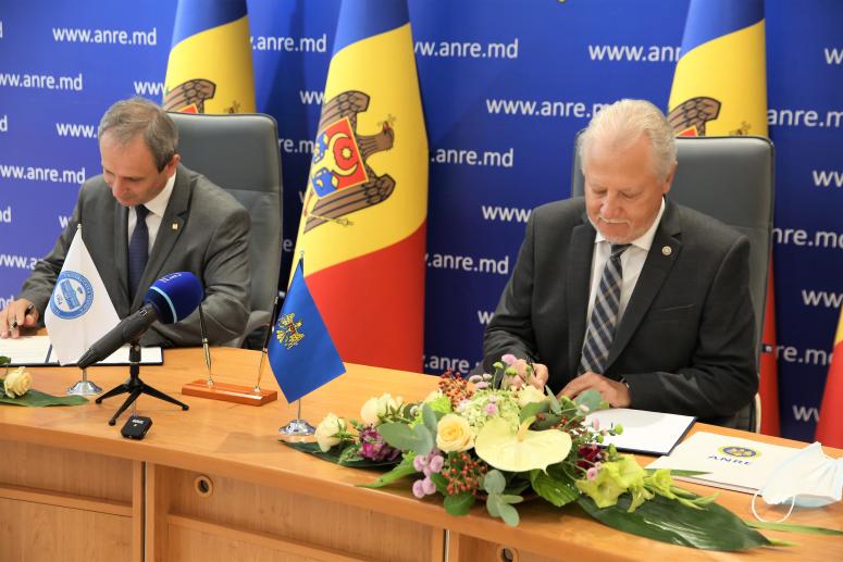 ANRE și UTM au semnat un Acord de colaborare