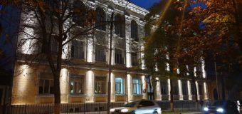 Trei clădiri de importanță istorică din Capitală – iluminate (FOTO)