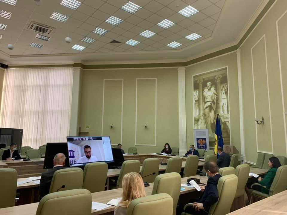 Ședință de lucru în vederea constituirii Comisiei privind selectarea candidatului la funcția de judecător la CtEDO