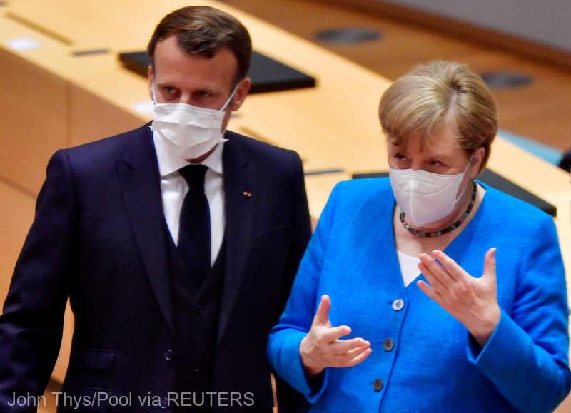 Macron şi Merkel cer statelor G20 să contribuie financiar la vaccinarea împotriva COVID-19 în ţările sărace