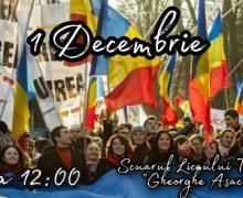La 102 ani de la Marea Unire, unioniștii vor organiza un marș cu un tricolor imens de 102 metri