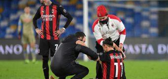 Panică la AC Milan. Cât ar putea lipsi Zlatan Ibrahimovic, din cauza accidentării suferite la Napoli