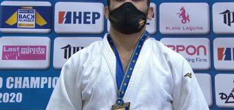 Un judocan moldovean a devenit campion european la 21 de ani